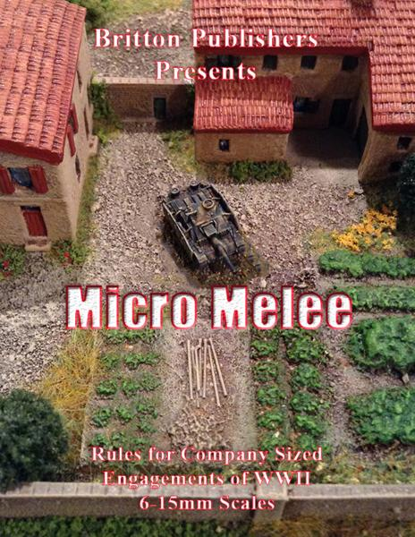 Micro Melee – Company Level WWII Wargaming Rules